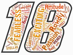 Kyle Busch Word Cloud