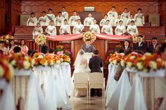 Dream wedding in our church :D