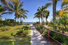 Casa Del Mar Beach Path on Key Biscayne, FL