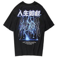 T Shirt Streetwear, Style Streetwear, Japanese Streetwear, Look 80s, T Shirt Custom, New Flame, Pantalon Cargo, Style Japonais, Cheap T Shirts