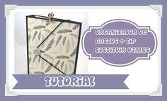 OrganizARTE 2: Cómo hacer organizador de gastos+ Tip sustituto de ojales...