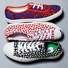 Converse collab with Marimekko! Love!