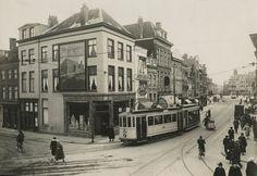 1925 Wagenstraat, gezien van de Amsterdamse Veerkade (links) naar de Bierkade