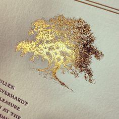 43 Super Ideas For Oak Tree Logo Design Wedding Invitations Wedding Invitation Trends, Winter Wedding Invitations, Letterpress Wedding Invitations, Wedding Stationary, Invitation Suite, Oak Tree Wedding, Wedding Logo Design, Wedding Paper, Diy Wedding
