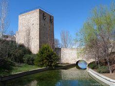 El torreón del Alamín es una torre de la antigua muralla de la ciudad de Guadalajara,  Comunidad de Castilla la Mancha, (España), parte de la que era la puerta del Postigo. Se sitúa en lo que era el lado norte de la muralla, sobre el barranco del Alamín y detrás de la concatedral de Santa María.  Mas información: http://castillosdelolvido.es/muralla-urbana-de-guadalajara-torreon-del-alamin/
