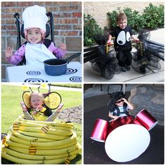 Halloween costume ideas to incorporate wheelchairs, walkers, and other devices!