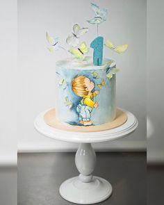 Birthday cupcakes boy ideas baby shower 39 Ideas for 2019 Torta Baby Shower, Baby Shower Cakes For Boys, Baby Boy Cakes, Fancy Cakes, Cute Cakes, Cupcake Cakes, Fondant Cakes, Cake Recipes For Kids, Bolo Cake