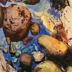 tide pools oil on canvas - Google Search