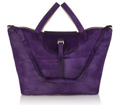 This for fall- gorgeous! Thela Bag Purple & Taupe