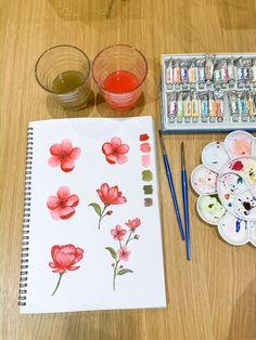 New elements in progress. Textile Design, Hand Painted, Studio, Prints, Studios