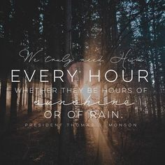 I need thee ev'ry hour, most gracious Lord. No tender voice like thine can peace afford. I need thee, oh, I need thee; ev'ry hour I need thee! Oh, bless me now, my Savior; I come to thee! Hymn 98 #lds #mormon #christian #helaman #armyofhelaman #sharegoodness #embark