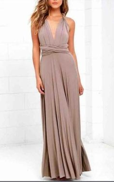 Sexy Bohemian Infinity Dress Women Long Beach Dress