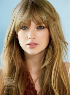 Taylor swifts bangs