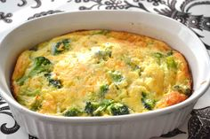 Bisquick Recipes  | Broccoli Quiche – No crust – Recipe