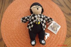 "NEW HOMIES ""EIGHTBALL""  MINI PLUSH DOLL STUFFED TOY Lowrider Chicano Aztlan#Homies#Mijos"