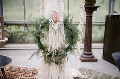 green wedding / hoop