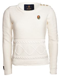 Morris Lady Bardot Oneck Off White Bardot, Off White, Pullover, Lady, Womens Fashion, Sweaters, Sweater, Women's Fashion, Sweater