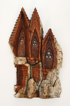Whimsical Church Carving by William Rogers