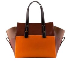 Afbeelding van http://pamperedandpolished.co.nz/wp-content/uploads/2012/09/Orange-Brown-bag.jpg.