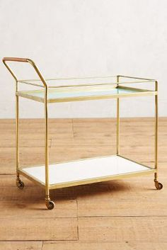 Delaney Bar Cart #Anthropologie
