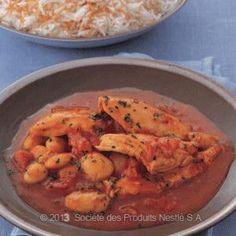Wide Beans Chicken Stew Recipe