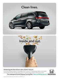 HONDA PRINT ADS