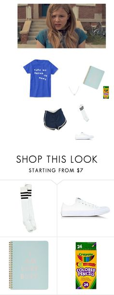 """Luli - hick"" by littlesweetheart123 ❤ liked on Polyvore featuring Boohoo, Converse, ban.do and Adina Reyter"