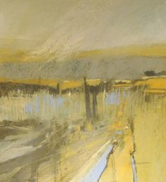 Norma Stephenson, Keasden-moss 86x86  Pastel