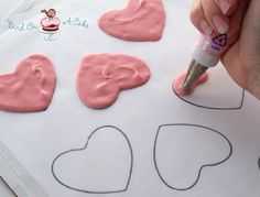 How to make chocolate cupcake toppers