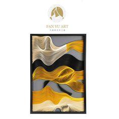 玄关走廊装饰画欧式现代简约美式墙画抽象壁画艺术画样板房实物画-淘宝网