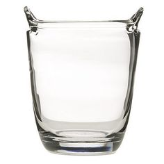 """Artland Simplicity Ice Bucket by Artland. $17.95. 8"""" height. Hand blown. Dishwasher safe. Clear Glass. This collection is made of Hand Blown glass.  As the name suggests, this collection is simple but sophisticated.  This collection is made to be used for everyday entertaining.. Save 28%!"""