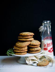 Sea Salt and Thyme Chocolate Chunk Cookies