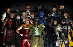 To combat the real crime on the streets, some people assume hero identities. Get the 411 on 10 real-life costumed crime fighters. Justice League, Videogames, Real Superheroes, Vida Real, Hero Costumes, Helping The Homeless, Inspirational Videos, Our World, Picture Show