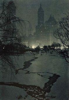 The White Night by Adolf Fasse by by Gigi