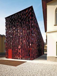 Nembro Public Library and Auditorium by Archea Associati, Italy