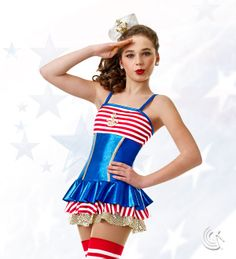 Curtain Call Costumes®   Ahoy :: Fourth Of July :: Jazz And Tap