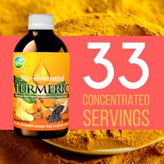 #BioFermentedTurmeric has 33 concentrated servings.This unique Organic #Probiotic Formula with 100% Bio-fermented #Turmeric, Ginger & Black Pepper increases the #antioxidant capacity of the body.Naturally rich in enzymes,this unique probiotic formula with curcumin,the main active ingredient in turmeric,has powerful anti-inflammatory effects & is a very strong antioxidant.Buy…