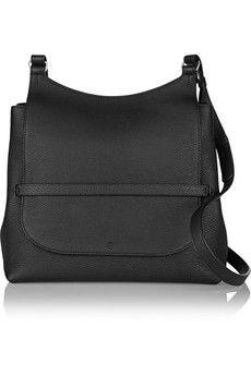 The Row - Sideby textured-leather shoulder bag