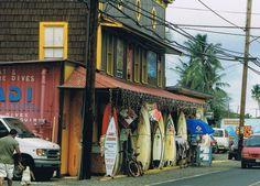 shop in Kona, North Shore