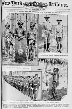 The Filipino is a hard fighter, whether with our army or against it, Jan. 15, 1905 by John T Pilot, via Flickr