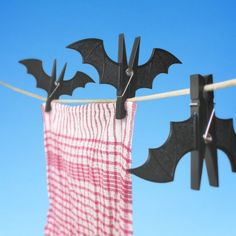 Spooky Bats Pyykkipojat - Pulju.net