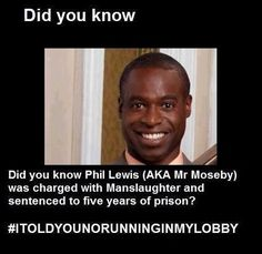 just looked it up... this was before zack and cody, and he was drunk driving and accidently killed a woman... the judge took off a couple years b/c of good behavior, and now he is the amazing dude we know and love as mr. moseby :)