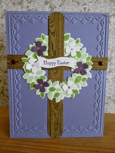 Stamp & Scrap with Frenchie: Happy Easter Wondrous Wreath