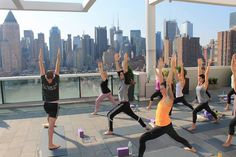 Yoga with a view in NYC