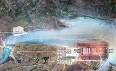 Progetto complessivo del futuro Thames Hub Airport, nuovo #aeroporto di #Londra su progetto di #Norman #Foster