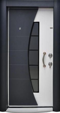 61 Ideas front door design modern ideas for 2019 Wooden Front Door Design, Front Gate Design, Door Gate Design, House Front Design, Wooden Doors, Main Entrance Door Design, Grill Door Design, Main Gate Design, Modern Front Door