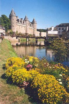 El Castillo de Josselin, Bretaña