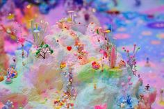 Blissfully excessive candy wonderland pictures by Australian artists Pip and Pop. Click through this link to get to Pip and Pop's site (not directly pinnable). Their work is fantastic.