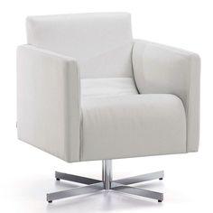 Cube fauteuil - LaForma - wit