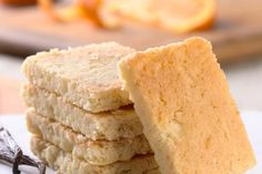 Gluten-Free Orange-Vanilla Shortbread | Flourish - King Arthur Flour's blog